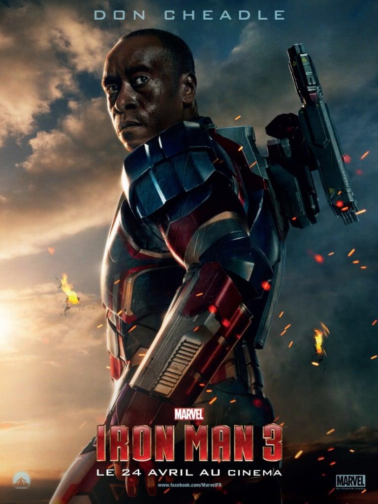 Iron Man 3 - Affiche Iron Patriot