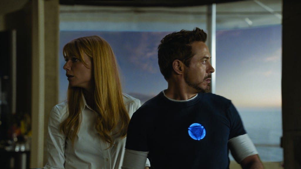 IRON MAN 3 - Pepper et Tony