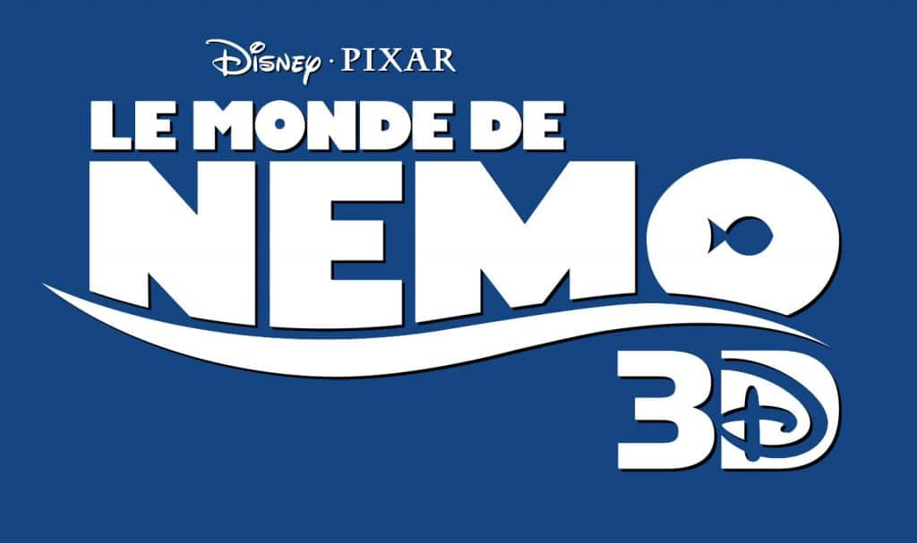 Logo Titre Nemo 3D DVD