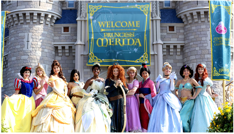 Merida Crowned as the Eleventh Disney Princess at Magic Kingdom Park 2