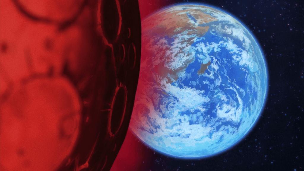 Saint Seiya Omega Arc 2 - Mars et la Terre