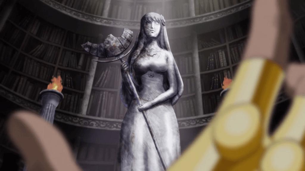 Saint Seiya Omega Arc 2 - Statue Saori Athena