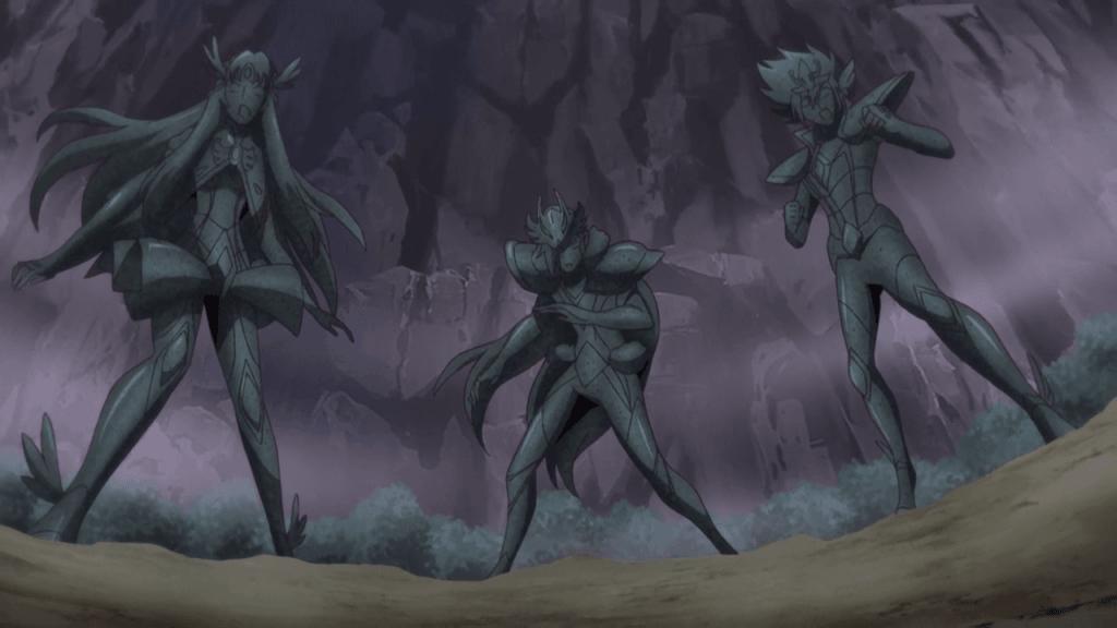 Saint Seiya Omega - Combat contre Peruseusu no Mirufaku