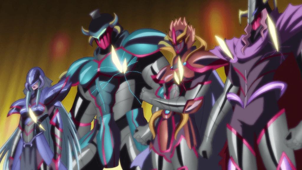 Saint Seiya Omega - Les 4 guerriers de Mars