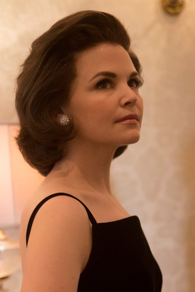 Crédit photo: Photo by Kent Eanes / National Geographic Channel Descriptif: première photo de Ginnifer Goodwin dans le rôle de la première dame Jackie Kennedy sur le tournage du documentaire de National Geographic Channel « Killing Kennedy »