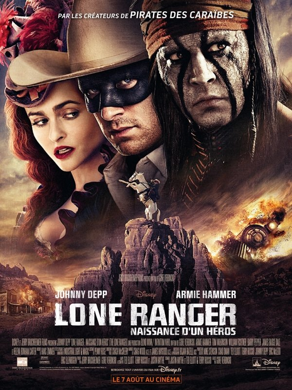 Lone Ranger - Affiche FR