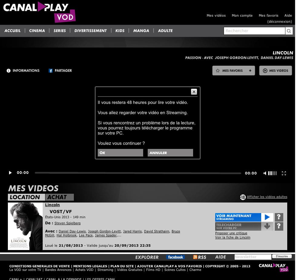 CanalPlayVOD-Lincoln-Il-vous-reste-48H