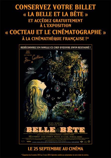 Cocteau et la cinematographie - La Belle et la Bete - Cinematheque