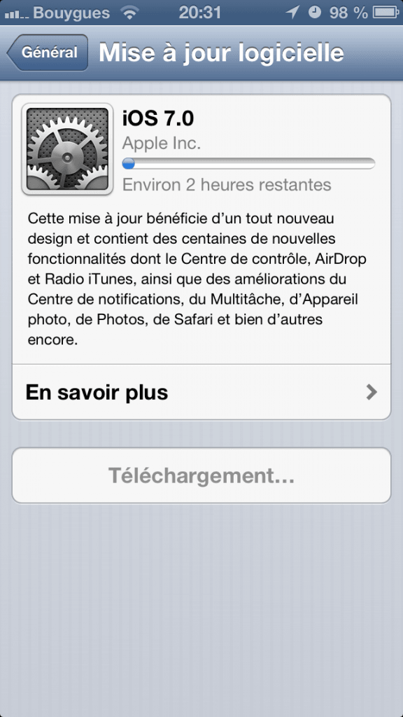 Mise a jour iOS 7 - 0371