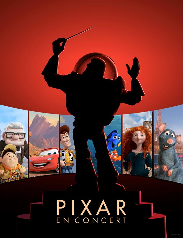 Pixar en Concert Affiche