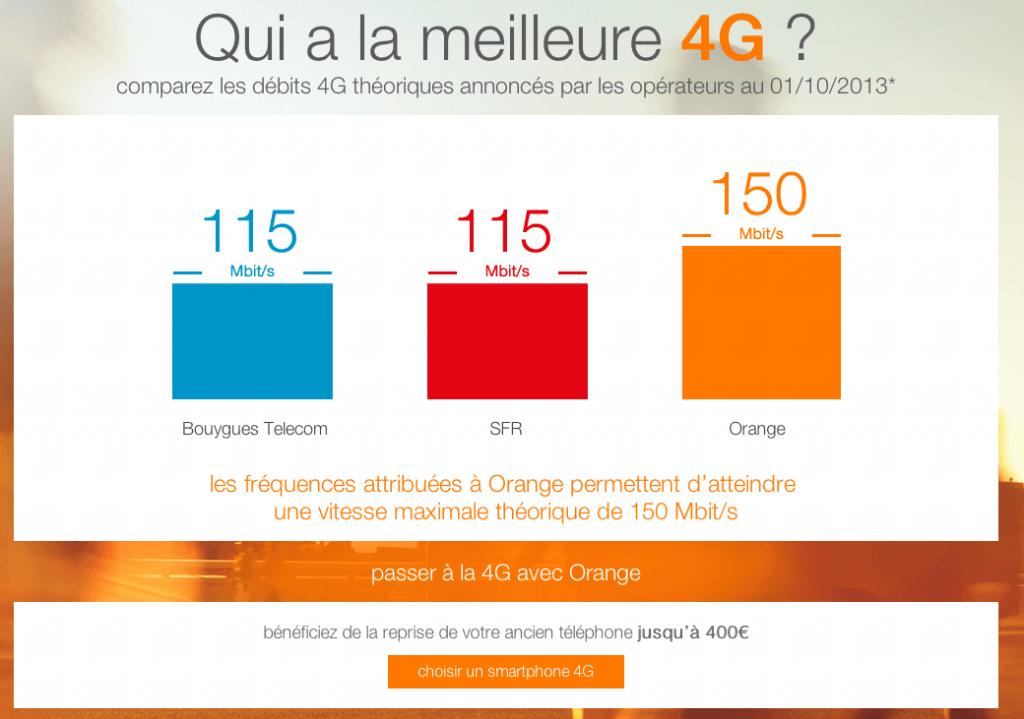Qui a la meilleure 4G - Debits