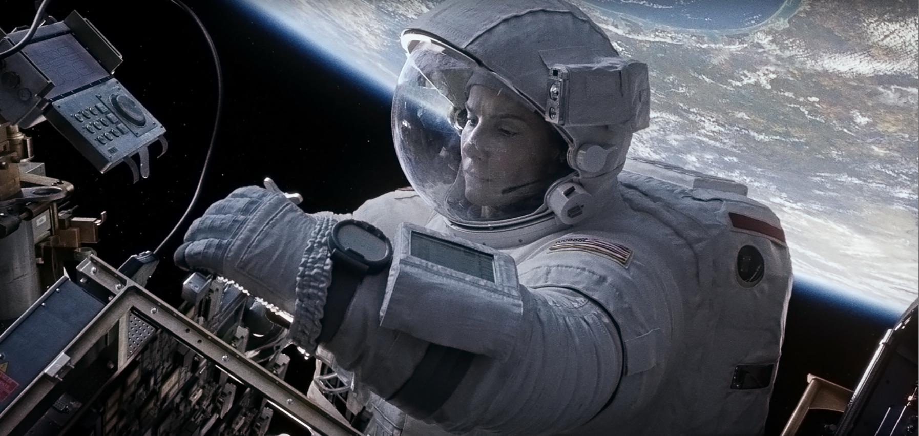 Chronique d 39 une projection de gravity au wepler dans la - Gravity movie 4k ...