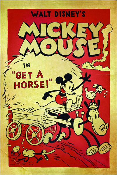 Mickey Get a Horse Affiche