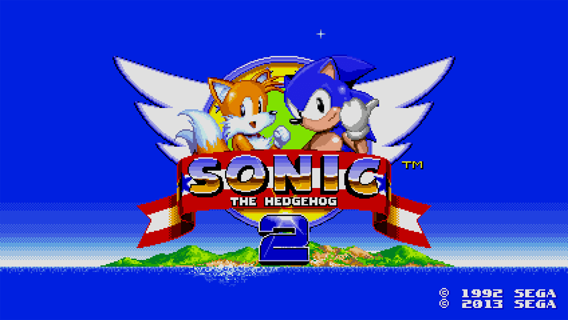Sonic 2 sur iOS (iPhone, iPad)