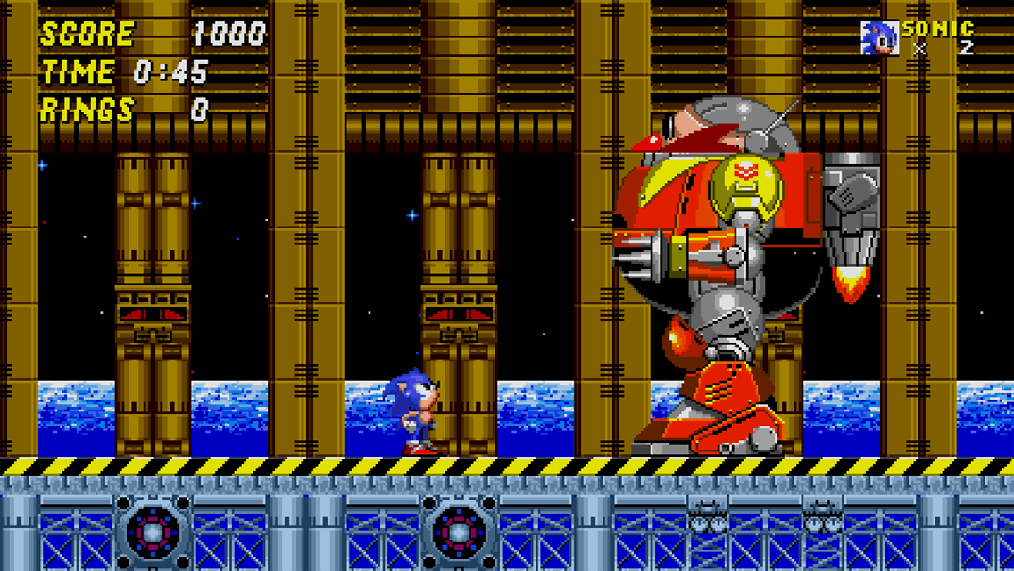 Sonic 2 - Boss Attack Mode