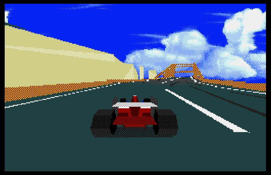 Virtua Racing Megadrive