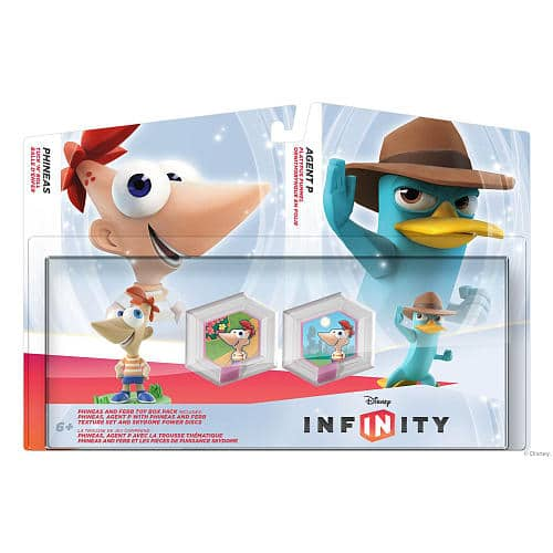 Disney Infinity Pack Phineas et Perry