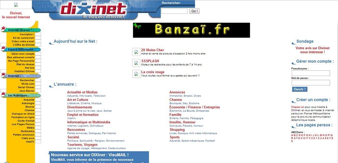 Dixinet-web