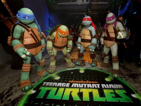 Nickelodeon's Teenage Mutant Ninja Turtles Emerge At NY Comic Con 2012 - Day 2