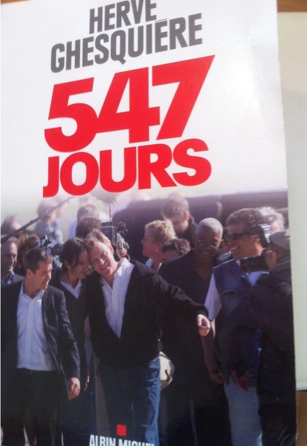 547 jours Albin Michel