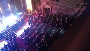 Le public pendant la prestation de Soprano...