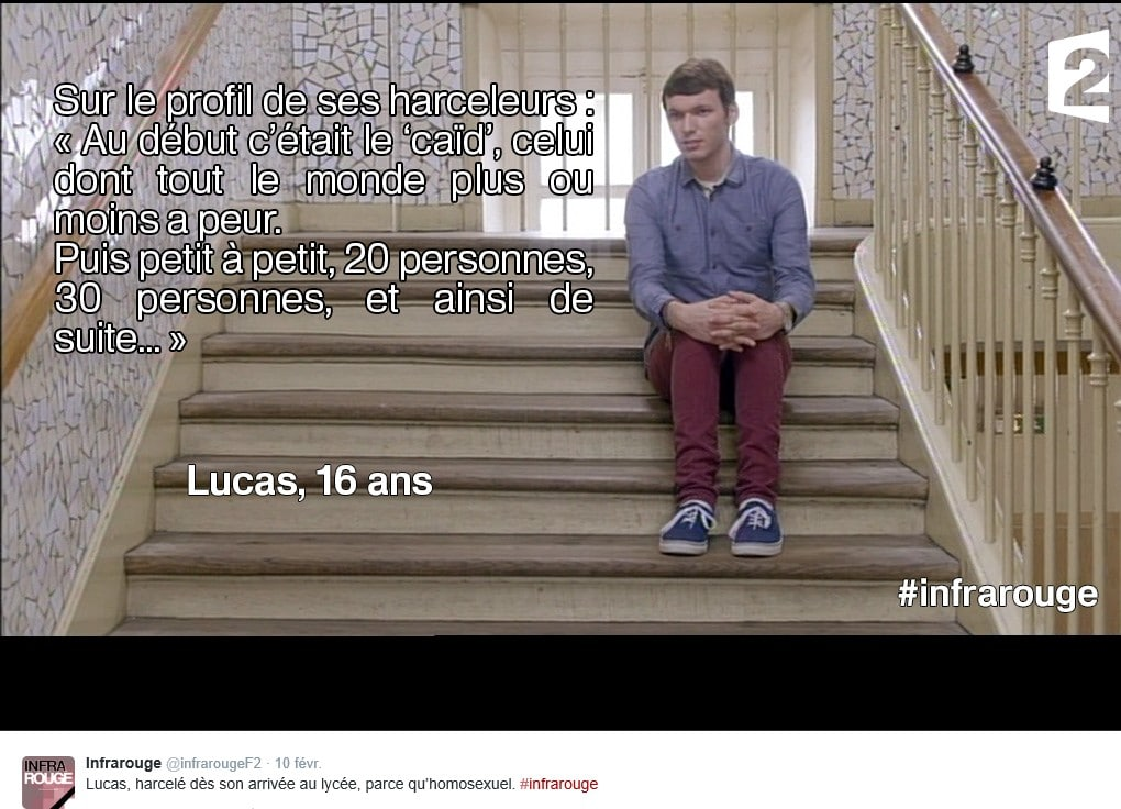 Infrarouge Harcelement Lucas