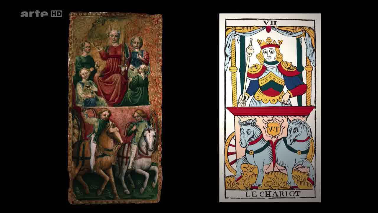 Le Chariot vers 1450 au Musée des Cartes à Issy les Moulineaux