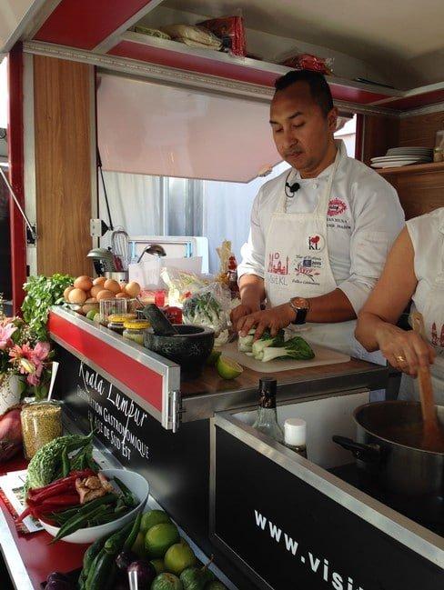 Norma Musa dans son Food Truck