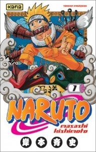 Couverture du tome 1 du manga Naruto