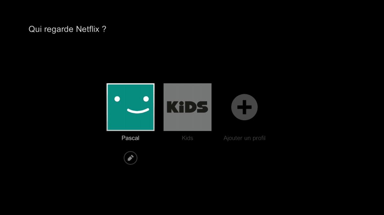 Commun à toutes les applications, le choix du profil Pascal ou Kids. Bien vu.