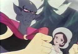 Venusia et Hydargos (le méchant pas bo)