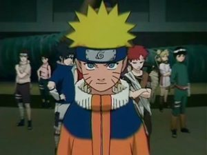Naruto, l'adaptation animée.
