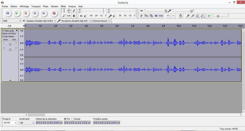 Audacity Podcast Reves Connectes2