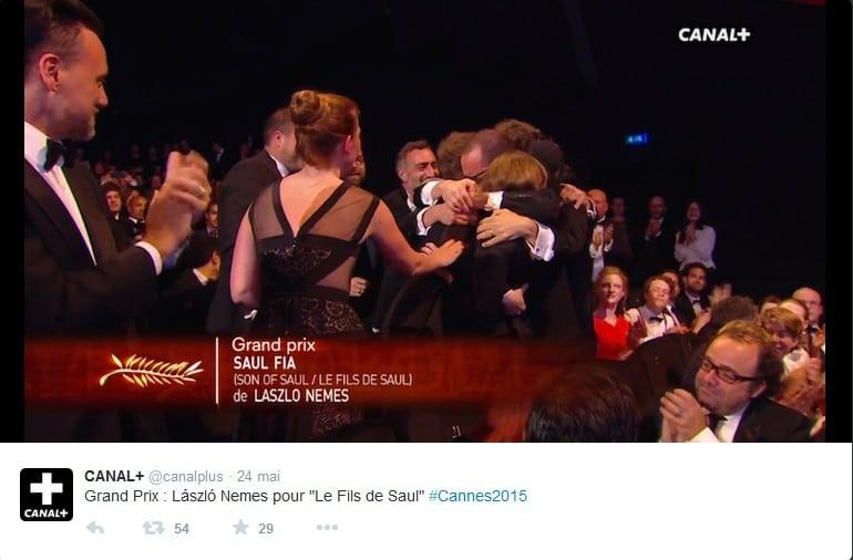 Cannes 2015 - Grand Prix - Laszlo Nemes pour Le Fils de Saul
