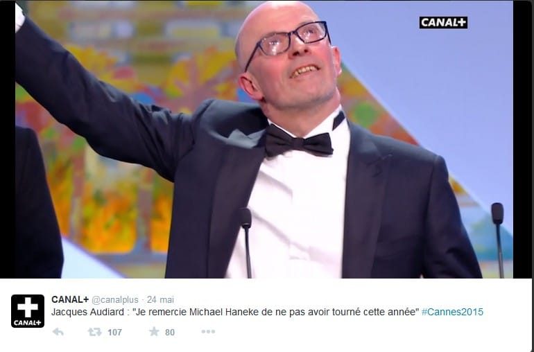 Cannes 2015 - Jacques Audiard