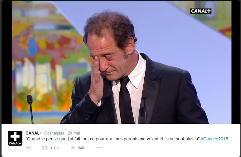 Cannes 2015 - Vincent Lindon