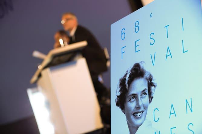 Conférence de presse du 68e Festival de Cannes - 16 avril 2015 - Olivier Vigerie - Source officielle