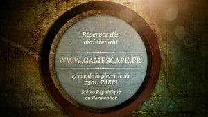 La team Rêves Connectés a été enfermée au cachot de la Bastille ! Motif invoqué ? Crime de lèse majesté. Test de Gamescape. 7