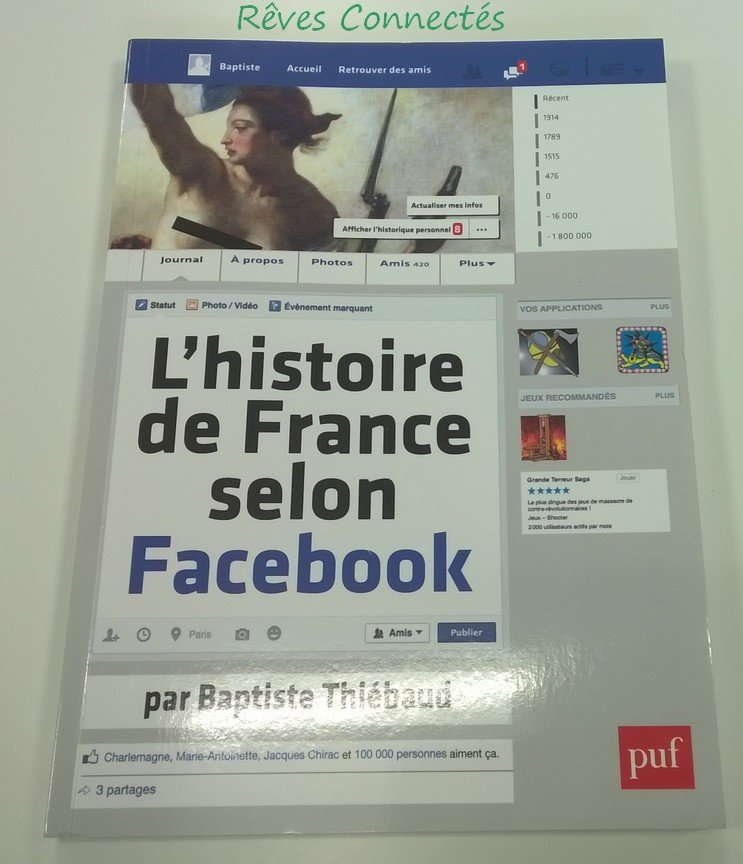 L 39 histoire de france selon facebook for Statut illustrateur