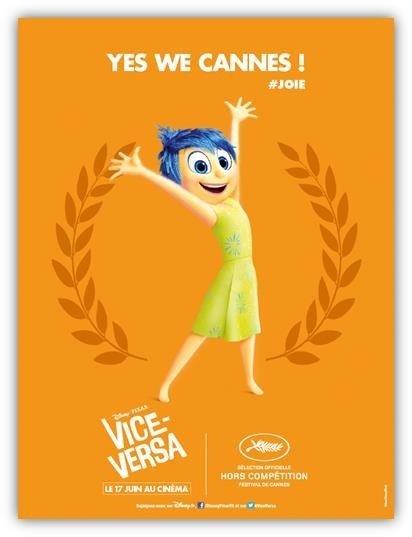 JOIE, voix Américaine de Amy POEHLER, voix Française Charlotte LE BON ; Elle est débordante d'optimisme et de bonne humeur. https://www.youtube.com/watch?v=KESbqOWTY-8