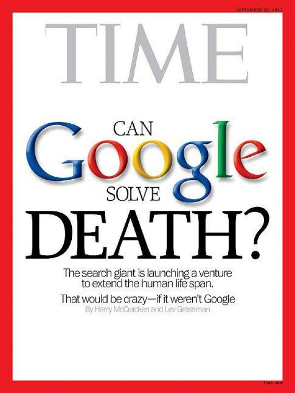 Time Can Google solve Death