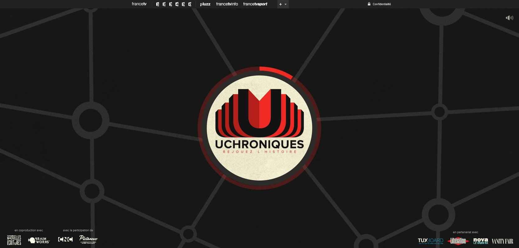 Accueil du site UCHRONIQUES