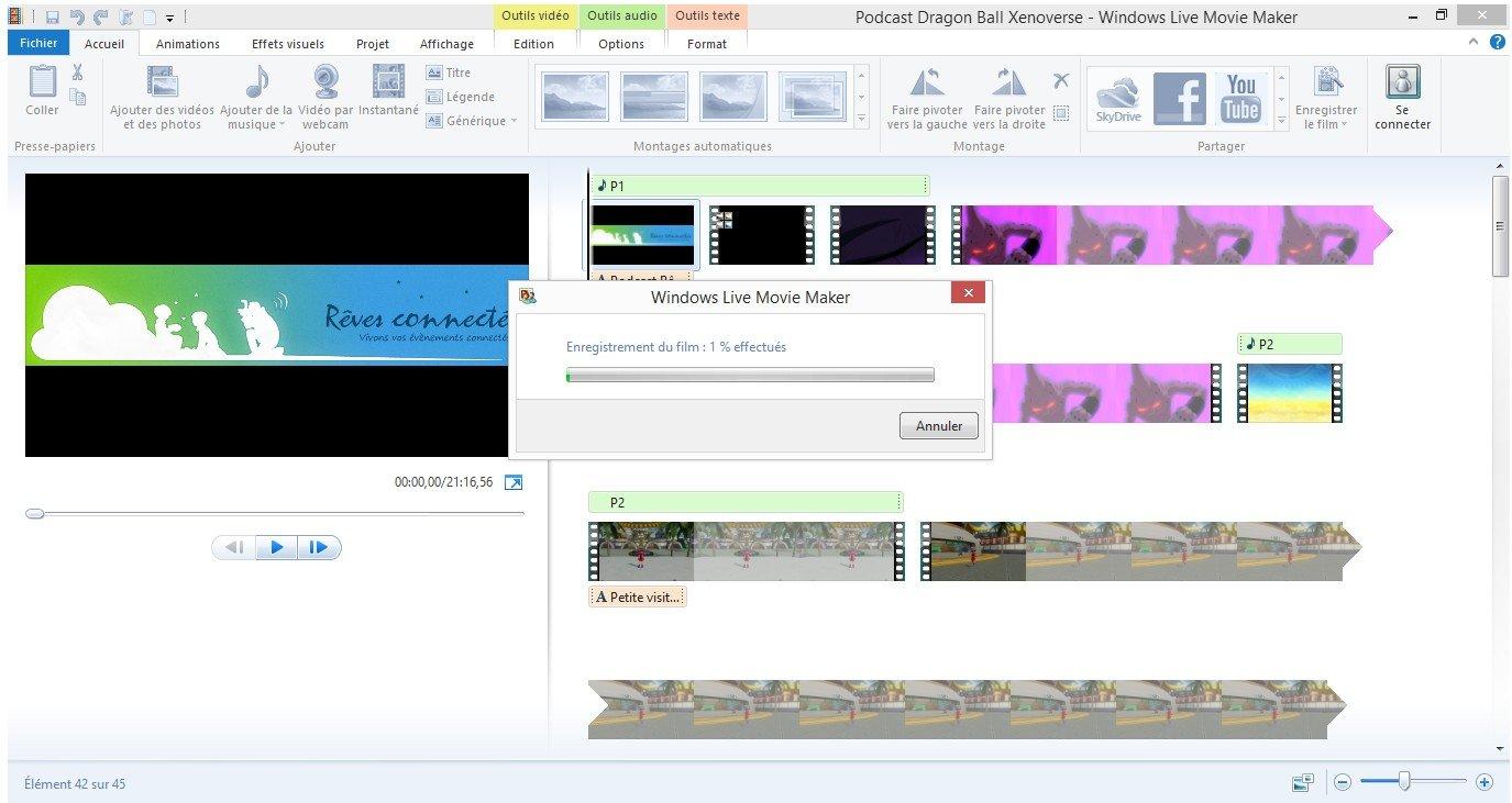 Windows Movie Maker Podcast Reves Connectes