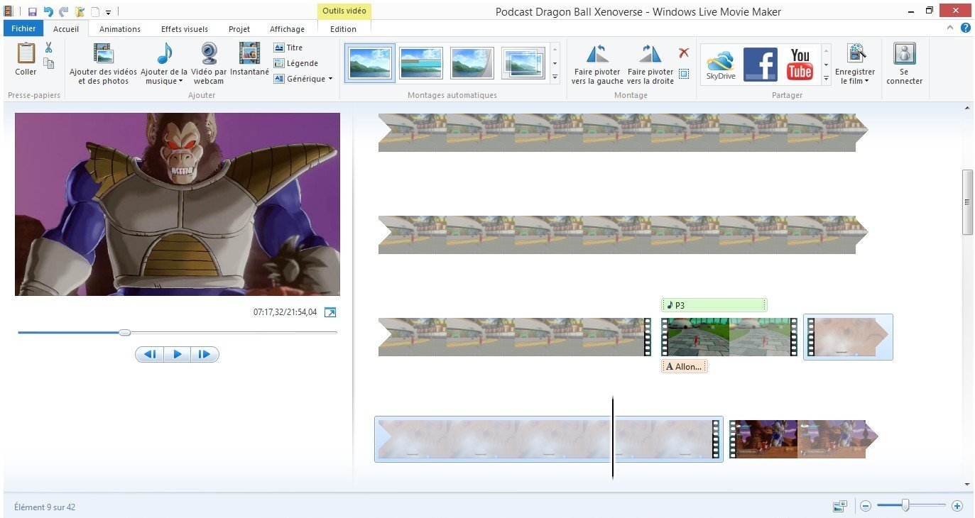 Windows Movie Maker Podcast Reves Connectes2