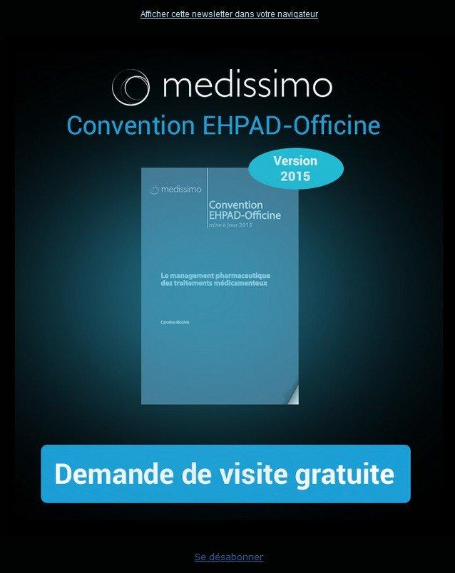 Mise à jour de notre convention ehpad-officine