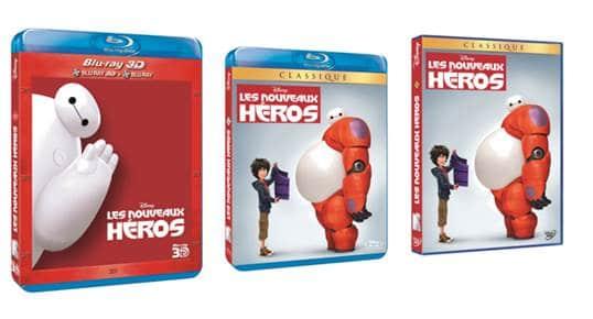 DVD BRD Les Nouveaux Heros