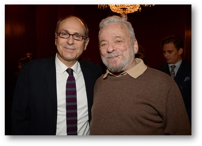 James Lapine et Stephen Sondheim