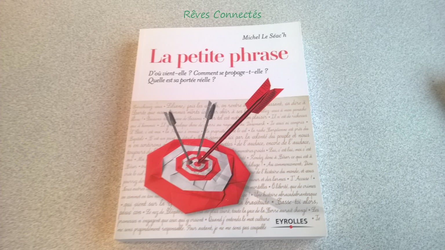 La petite phrase aux Éditions Eyrolles