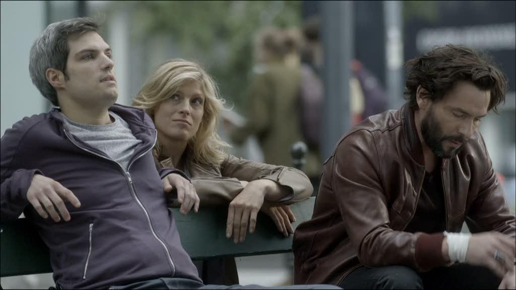 Romain, Eva et Falco