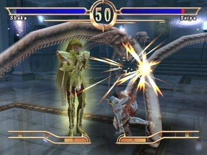 Saint Seiya Le Sanctuaire, jeu Atari sur PS2. 4